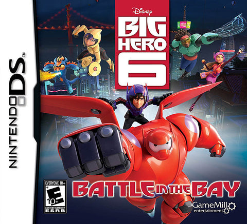 Big Hero 6 - Battle In The Bay (DS) DS Game