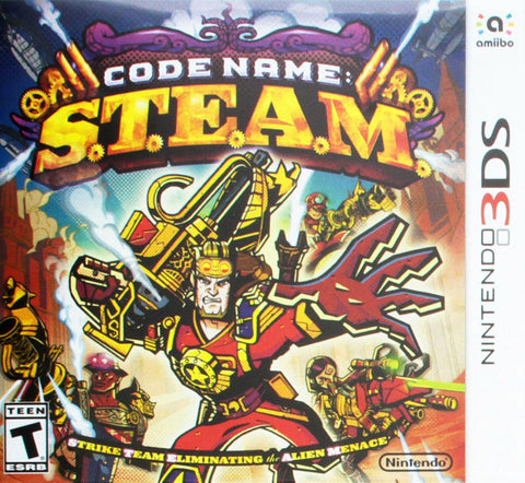 Code Name: S.T.E.A.M. (3DS) 3DS Game