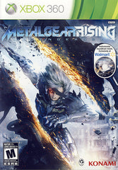 Metal Gear Rising - Revengeance (Walmart Exclusive Instrumental Soundtrack Included) (XBOX360)