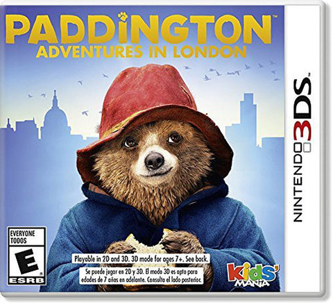 Paddington Adventures In London (3DS) 3DS Game