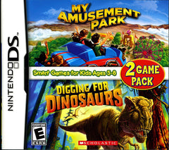 My Amusement Park / Digging for Dinosaurs (DS)