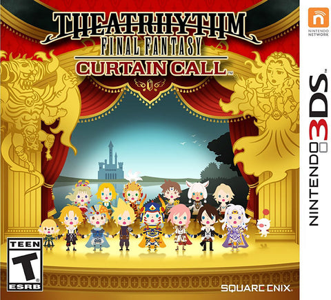 Theatrhythm Final Fantasy - Curtain Call (3DS) 3DS Game