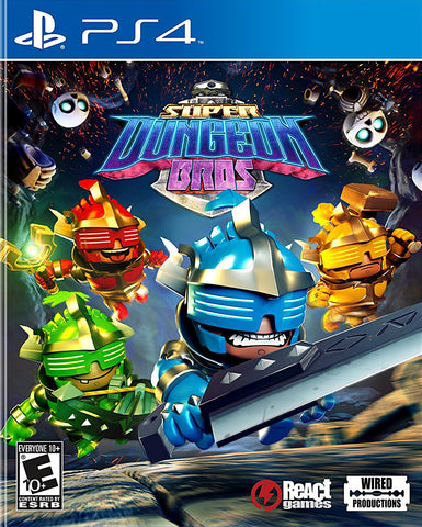 Super Dungeon Bros (PLAYSTATION4) PLAYSTATION4 Game