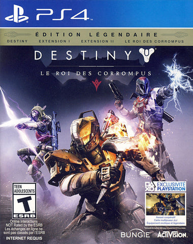 Destiny: The Taken King - Legendary Edition (French Version Only) (PLAYSTATION4) PLAYSTATION4 Game