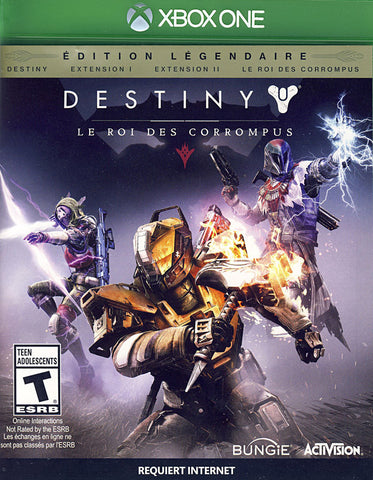 Destiny: The Taken King - Legendary Edition (French Version Only) (XBOX ONE) XBOX ONE Game