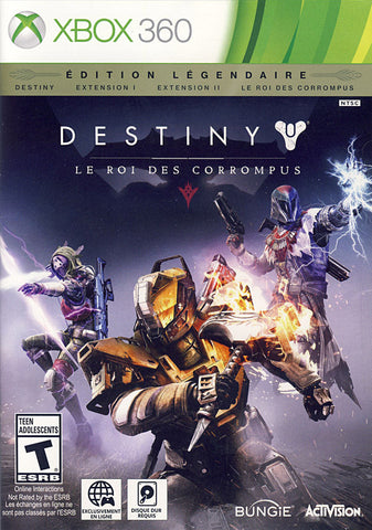 Destiny: The Taken King - Legendary Edition (French Version Only) (XBOX360) XBOX360 Game