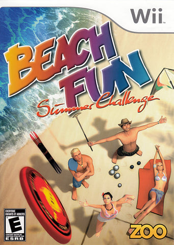 Beach Fun - Summer Challenge (Bilingual) (NINTENDO WII) NINTENDO WII Game