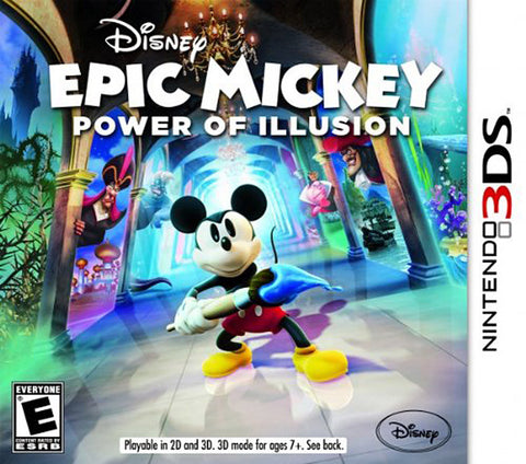 Disney Epic Mickey - Power of Illusion (3DS) 3DS Game