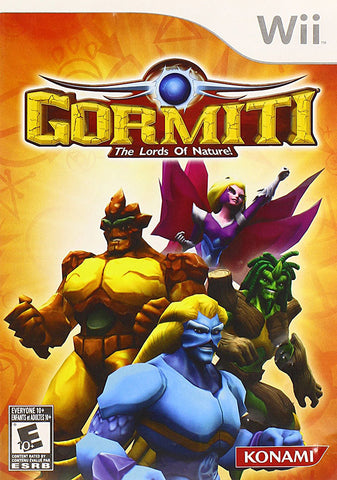 Gormiti - The Lords of Nature! (Trilingual Cover) (NINTENDO WII) NINTENDO WII Game