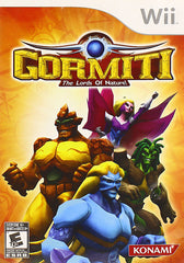 Gormiti - The Lords of Nature! (Trilingual Cover) (NINTENDO WII)