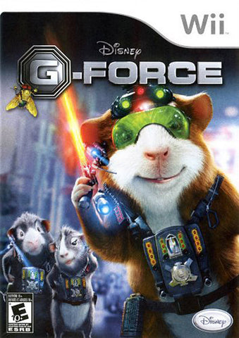 Disney - G-Force (Bilingual Cover) (NINTENDO WII) NINTENDO WII Game