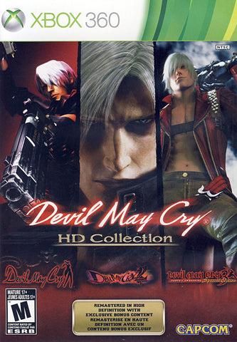 Devil May Cry HD Collection (Bilingual Cover) (XBOX360) XBOX360 Game