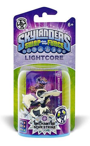 Skylanders SWAP Force - Lightcore Enchanted Star Strike Character (Toy) (TOYS) TOYS Game