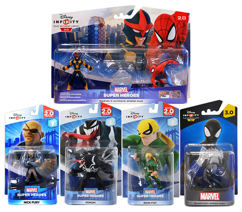 Disney Infinity - Spider-Man Bundle (5-Pack) (Toy) (TOYS) TOYS Game