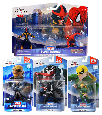 Disney Infinity - Spider-Man Bundle 2 (4-Pack) (Toy) (TOYS) TOYS Game