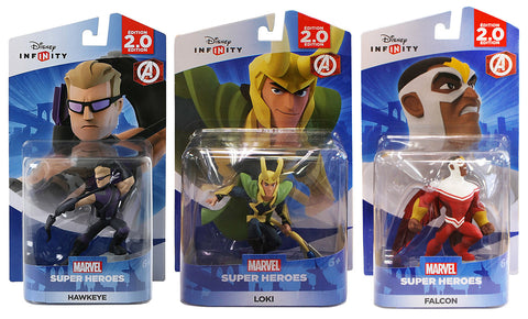 Disney Infinity - Marvel Avengers Bundle 1 (3-Pack) (Toy) (TOYS) TOYS Game
