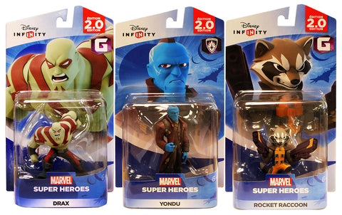 Disney Infinity 2.0 - Guardians of the Galaxy Bundle 2 (3-Pack) (Toy) (TOYS) TOYS Game