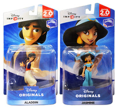 Disney Infinity 2.0 - Disney Originals - Aladdin / Jasmine Bundle (2-Pack) (Toy) (TOYS)