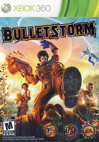 Bulletstorm (Bilingual Cover) (XBOX360) XBOX360 Game