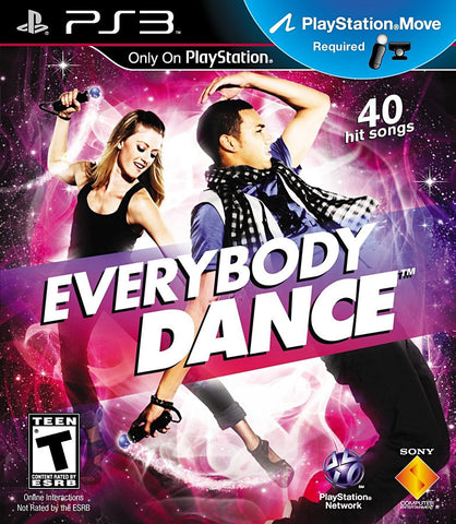 Everybody Dance (PLAYSTATION3) PLAYSTATION3 Game