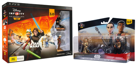 Disney Infinity 3.0 - Star Wars Starter Pack + Force Awakens Playset (EU) (Toy) (PLAYSTATION3) PLAYSTATION3 Game
