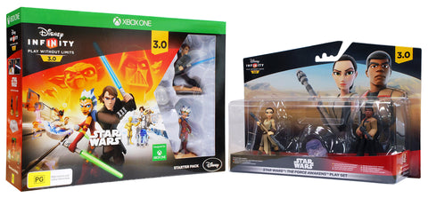 Disney Infinity 3.0 - Star Wars Starter Pack + Force Awakens Playset (EU) (Toy) (XBOX ONE) XBOX ONE Game