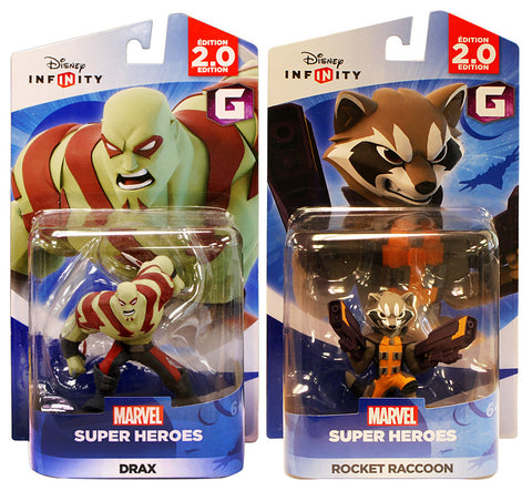 Disney Infinity 2.0 - Marvel Super Heroes - Drax and Rocket Raccoon Bundle (2-Pack) (Toy) (TOYS) TOYS Game