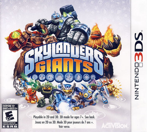 Skylanders Giants (Game Only) (Bilingual Cover) (3DS) 3DS Game