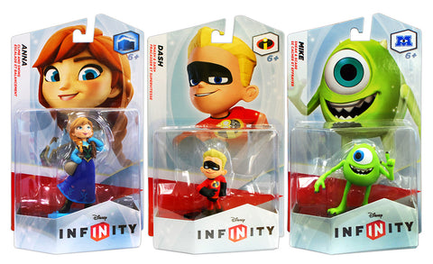 Disney Infinity - Disney Originals Bundle 3-Pack (Anna / Dash / Mike) (Toy) (TOYS) TOYS Game