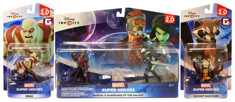 Disney Infinity 2.0 - Guardians of the Galaxy Playset Bundle (3-Pack) (Toy) (TOYS) TOYS Game