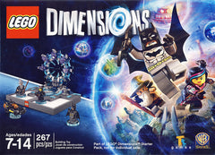 Lego Dimensions - Batman, Batmobile, Gandalf, Wyldstyle Set (Toy) (TOYS)