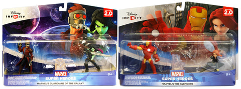 Disney Infinity 2.0 - Guardians Of The Galaxy and Avengers Playset Bundle (Toy) (TOYS) TOYS Game