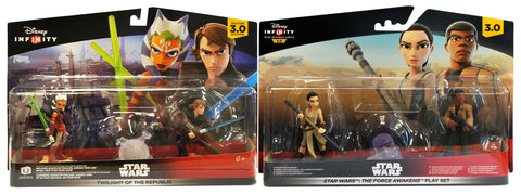 Disney Infinity 3.0 - Star Wars Twilight of the Republic and Force Awakens Playset Bundle (Toy) (TOYS) TOYS Game