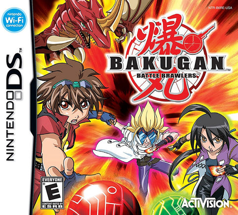 Bakugan - Battle Brawlers (DS) DS Game