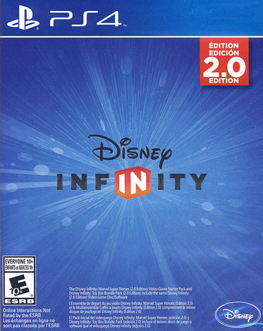 Disney Infinity 2.0 - Standalone (Game Disc Only) (PLAYSTATION4) PLAYSTATION4 Game