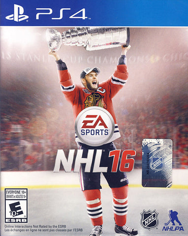 NHL 16 (Bilingual Cover) (PLAYSTATION4) PLAYSTATION4 Game