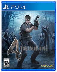 Resident Evil 4 (Bilingual Cover) (PLAYSTATION4)