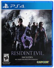 Resident Evil 6 (Bilingual Cover) (PLAYSTATION4)