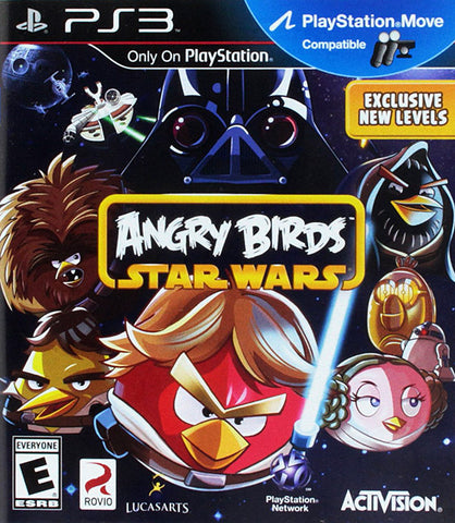 Angry Birds - Star Wars (PLAYSTATION3) PLAYSTATION3 Game
