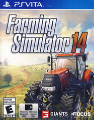 Farming Simulator 14 (Bilingual Cover) (PS VITA)