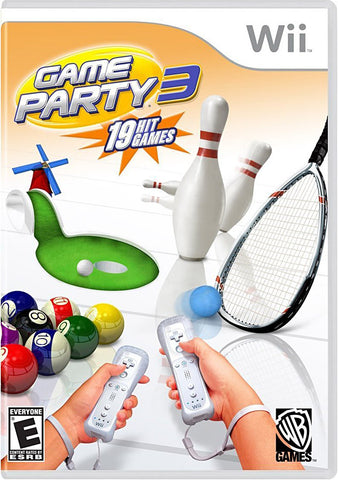 Game Party 3 (NINTENDO WII) NINTENDO WII Game