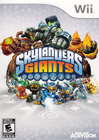 Skylanders Giants (Game Only) (Bilingual Cover) (NINTENDO WII) NINTENDO WII Game
