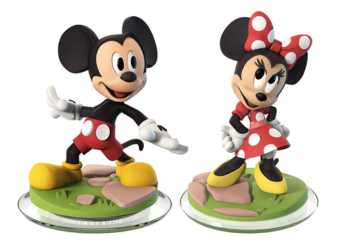 Disney Infinity 3.0 - Mickey Mouse & Minnie Mouse (2-Pack) (Toy) (TOYS) TOYS Game