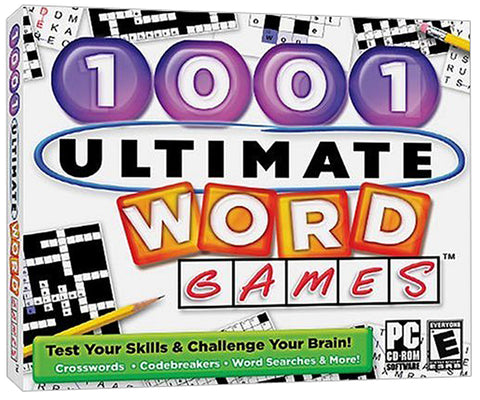 1001 Ultimate Word Games (Jewel Case) (PC) PC Game