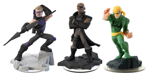 Disney Infinity 2.0 - Hawkeye/ Nick Fury/ Iron Fist (3-Pack) (Toy) (TOYS) TOYS Game