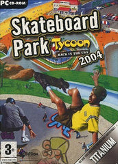Skateboard Park Tycoon - Back in the USA 2004 (French Version Only) (PC)