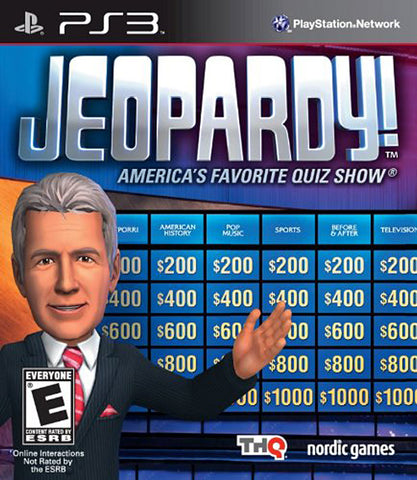Jeopardy! (PLAYSTATION3) PLAYSTATION3 Game