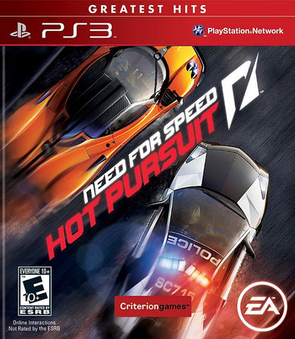 Need for Speed - Hot Pursuit (PLAYSTATION3) PLAYSTATION3 Game