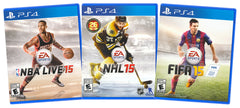 EA Sports Value Pack: NBA Live 15 / NHL 15 / FIFA 15 (3-Pack) (Playstation 4) (PLAYSTATION4)