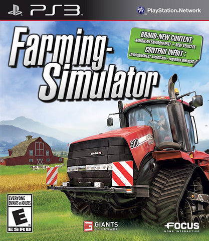 Farming Simulator (PLAYSTATION3) PLAYSTATION3 Game